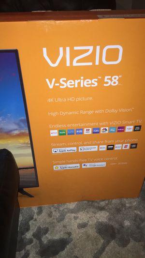 """58"""" Vizio 4K smart Tv brand new in the box for Sale in Attleboro, MA"""