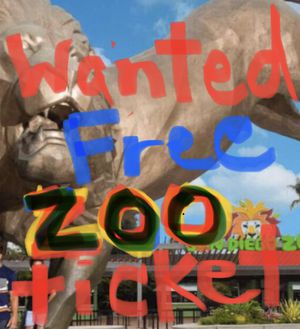Free Zoo Ticket Please?? Let's Make A Trade for Sale in San Diego, CA