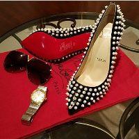 Women's Christian Louboutin follies Spikes Shoes