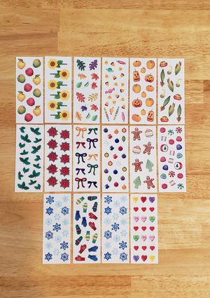 Creative Memories Sprinkle Autumn & Winter Stickers for Sale in Fontana, CA