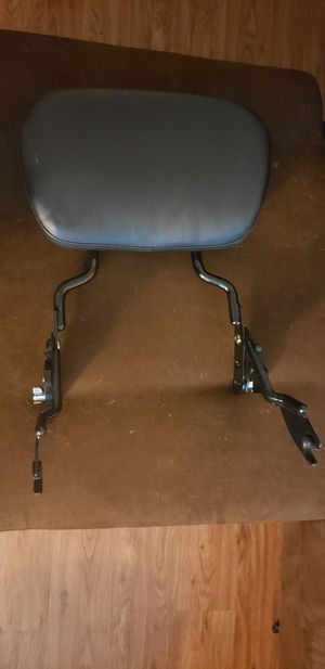 Harley davidson adjustable sissy bar for Sale in Victoria, TX