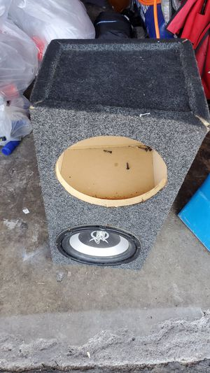 "Dual Subwoofer box 08"" for Sale in El Cajon, CA"