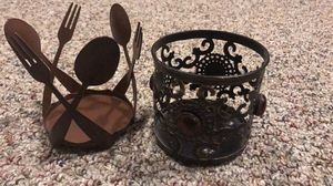 2 metal Yankee candle holders for Sale in Berryville, VA
