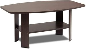 Simple Design Coffee Table, Dark Brown - Perfect Furniture for Home Office Living Room, Bedroom for Sale in Los Angeles, CA
