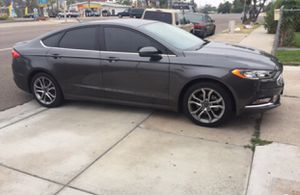 2017 Ford Fusion with Apple CarPlay Tech Package for Sale in San Diego, CA