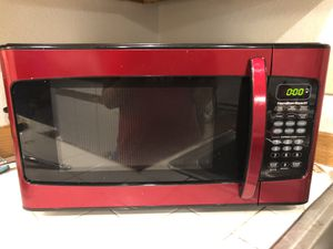 Hamilton beach 1.1 cu. ft. Microwave for Sale in Federal Way, WA