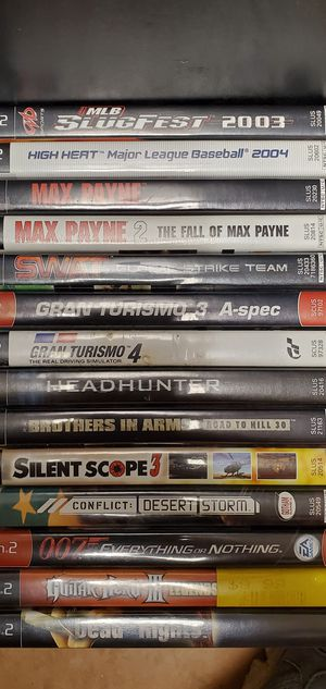 Used PS2 games lot for Sale in Lakeland, FL