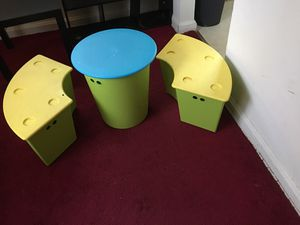 Kids playroom table with storage for Sale in Laurel, MD