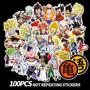 100 Pcs Dragon Ball Z Goku Anime Vinyl Decal Stickers for Sale in Los Angeles, CA