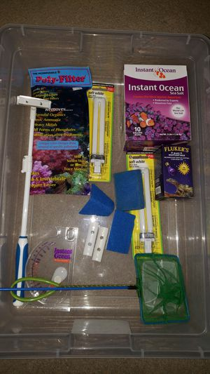 Aquarium/Tank Supplies (Parts can be sold separately) for Sale in Mitchell, IL