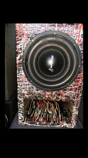Beast Wolfram 12 with custom curve ported box for Sale in Southport, IN