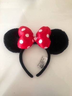 Classic Disney Minnie Mouse Ears for Sale in Los Angeles, CA