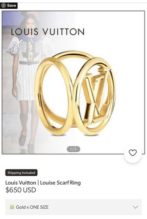 Louis Vuitton scarf ring for Sale in Irwindale, CA