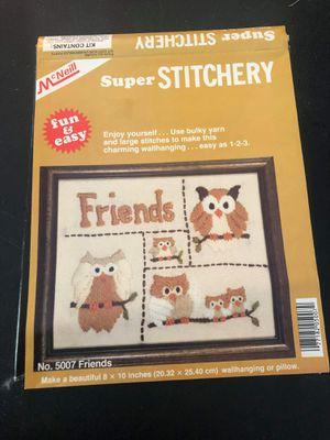 McNeil Super Stichery Crewel Kit for Sale in Midland, MI