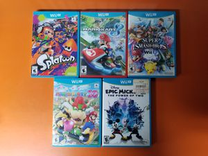Nintendo Wii U Games for Sale in Brooklyn, NY