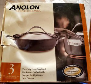 Anolon copper covered casserole for Sale in Elk Grove, CA