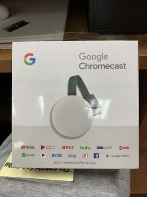Google Chromecast 3 Brand New for Sale in Queens, NY