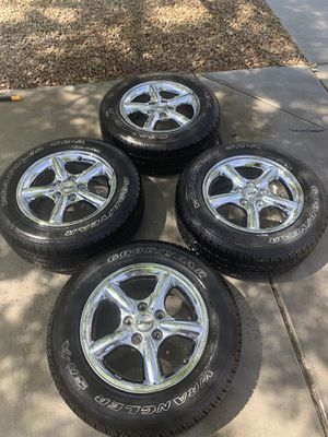 Jeep Cherokee wheels and tires for Sale in Henderson, NV