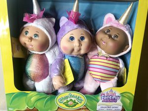 Brand New Cabbage Patch Kids Dolls Collectible Cuties Fantasy Friends Unicorns for Sale in Phoenix, AZ