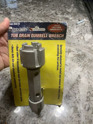 New Tub Drain Dumbell Wrench for Sale in Claremont, CA