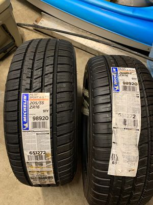 Michelin pilot sport as 3 205/55/16 for Sale in Gresham, OR