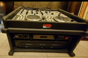 DJ Mixer Turn Table Surge Protector and more! Sound/Audio Equipment With Gator Case for Sale in Miami, FL