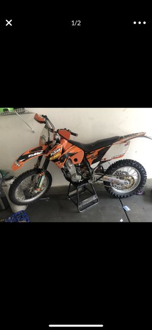 2006 KTM 450 exc plated for Sale in Rancho Cucamonga, CA