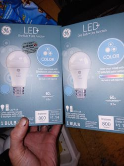 Bluetooth Light Bulbs: Color Change And Speaker for Sale in Portland,  OR