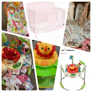 Baby Girl Items /crib for Sale in Lombard, IL
