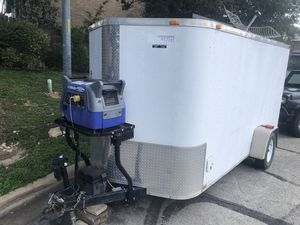6x12 Enclosed Off Grid Cargo Trailer for Sale in Austin, TX