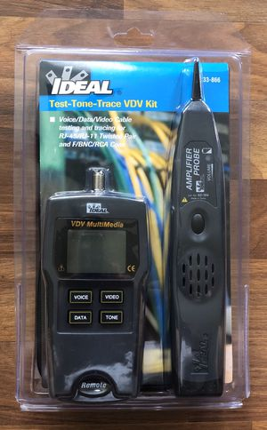 Ideal Test-Tone-Trace VDV Kit. for Sale in Los Angeles, CA