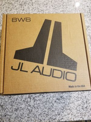 JL Audio 8W6 for Sale in Raleigh, NC