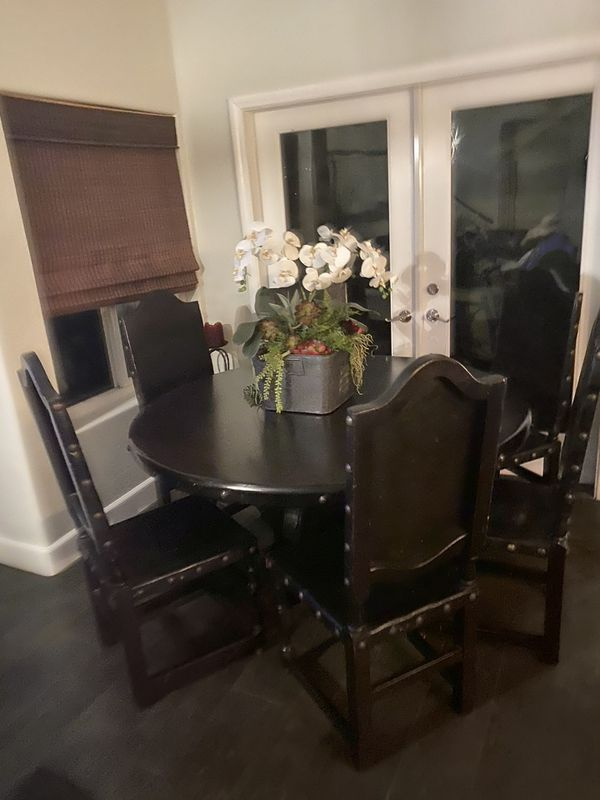 High end Table and chairs and barstools