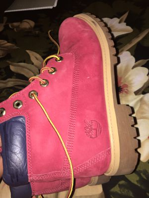 Limited edition Red White Blue men's timberland amazing condition for Sale in New York, NY