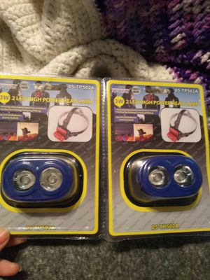 2 LED High Power Head Lamp for Sale in Pomona, CA