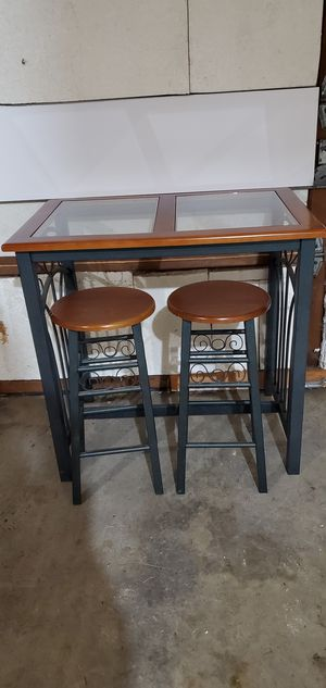 KITCHEN. TABLE. with 2. STOOLS for Sale in Tumwater, WA