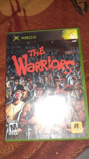 The warriors xbox game for Sale in ARROWHED FARM, CA