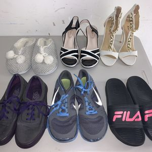 Lot of 6 Ladies Women Shoes Sneakers for Sale in Miami, FL