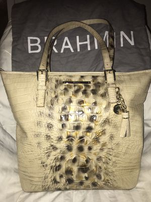 RARE Brahmin Asher Tote Summer Tortoise Melbourne Leather for Sale in Clodine, TX