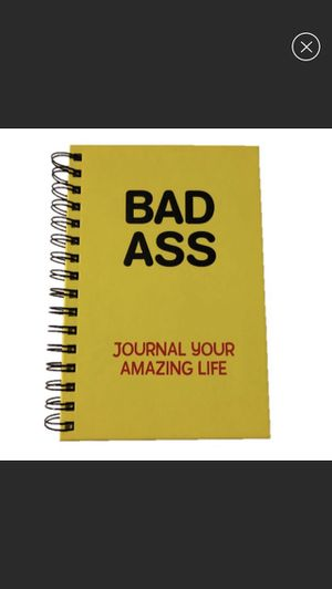 Bad Ass spiral notebook yellow journal for Sale in Upland, CA
