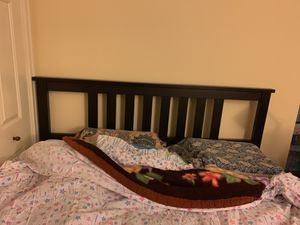 Tween size bed frame with a night stand for FREE!! for Sale in Chicago, IL