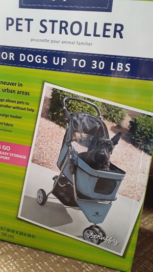 Dog stroller brand new in box for Sale in Long Beach, CA