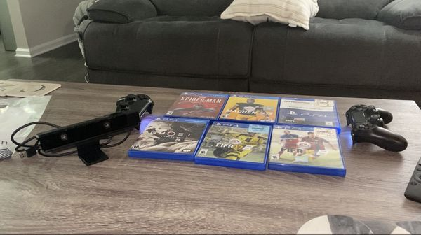 PlayStation 4 With Games And Accessories