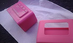 Pink alarm clock with silicone case, excellent condition for Sale in Phoenix, AZ