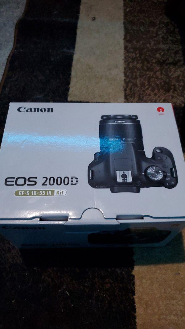 Canon EOS 2000d T7 Camera kit