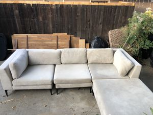 West Elm Sectional Sofa for Sale in Los Angeles, CA