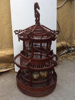 Beautiful wood birdcage for Sale in West Jordan, UT