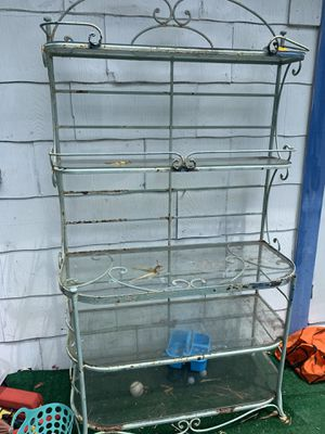 Iron bakers rack for Sale in Miami, FL