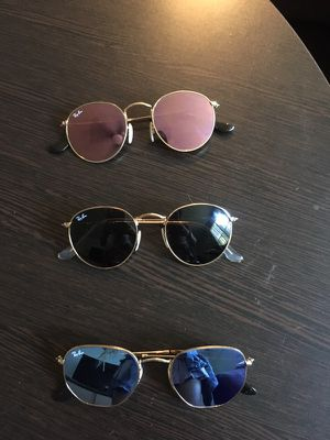 Ray Ban sunglasses 100 OBO each for Sale in Austin, TX