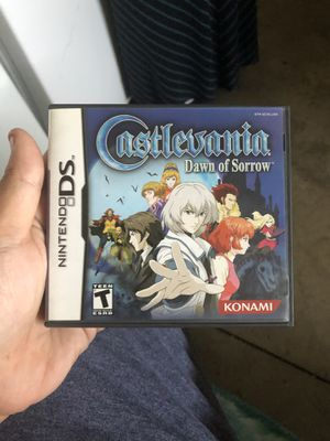 Castlevania Dawn of sorrow Nintendo ds complete for Sale in Moreno Valley, CA